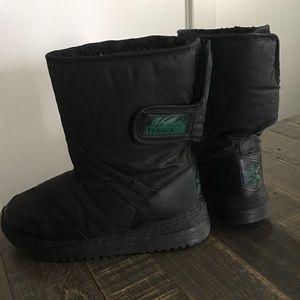 ITASCA snow boots size 7/8 EUC Velcro closure